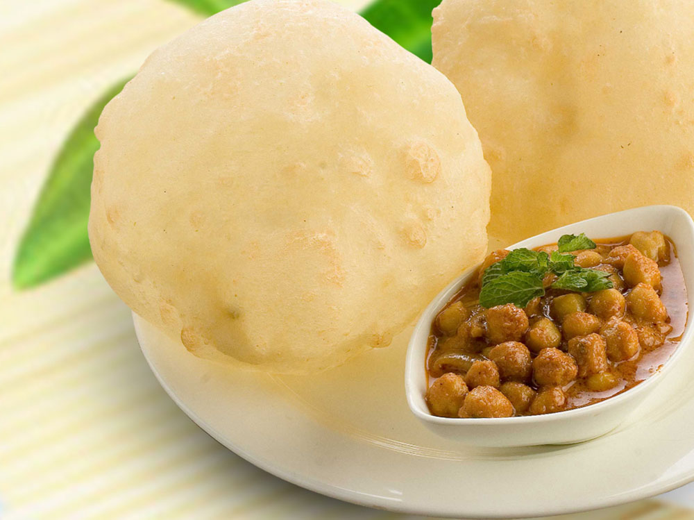 how to make chole for bhature
