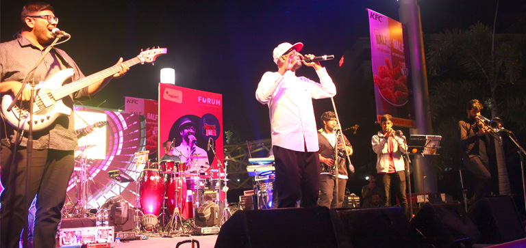 Forum Rocks Live with Benny Dayal