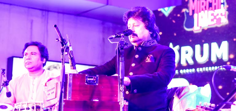 Forum Rocks Live with Pankaj Udhas