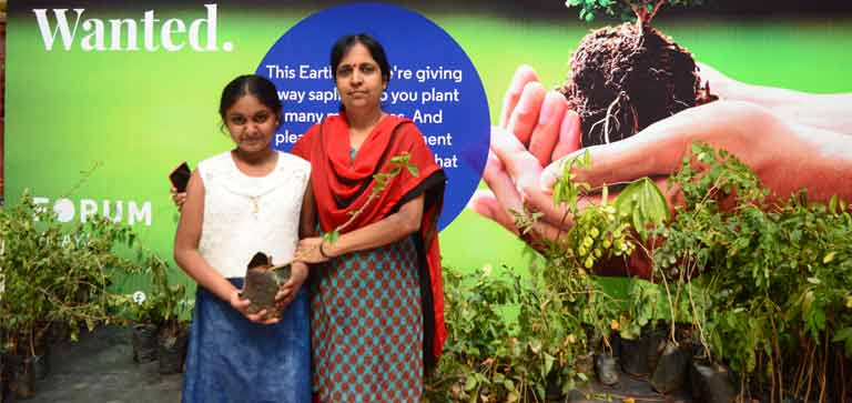 Earth day Celebration at Forum