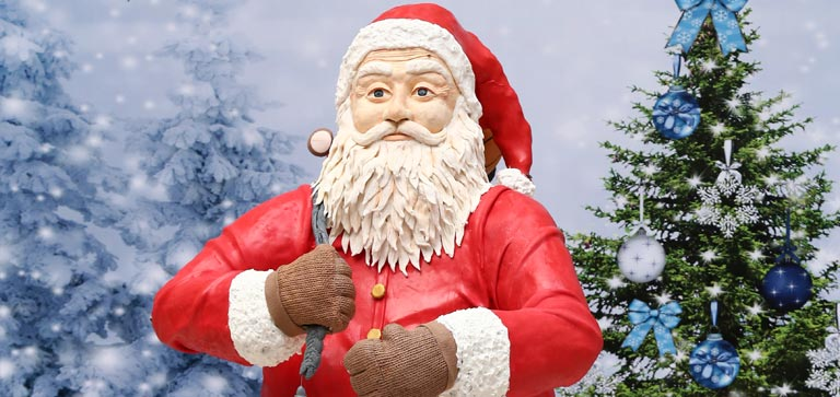 Your dream life-size edible Santa is now true at Forum!