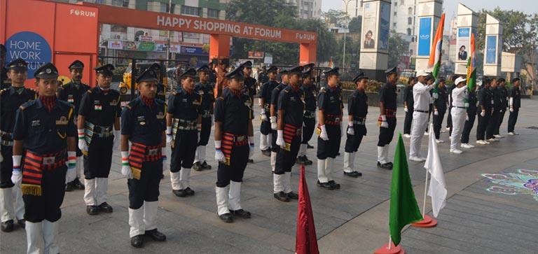 Republic Day at Forum
