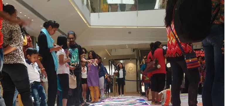 Women's month: Rangoli competition