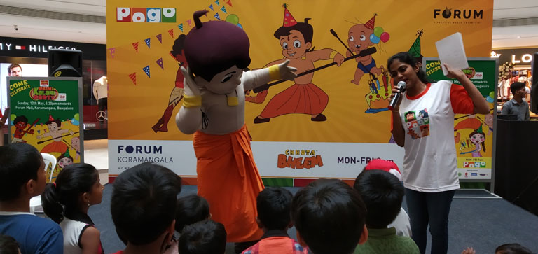 Meet & Greet with Chhota Bheem