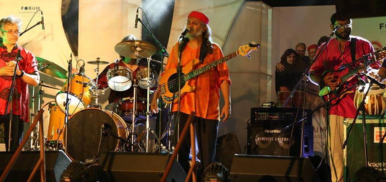 Indian Ocean live Band Performance at Forum Mall