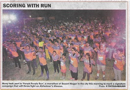 Forum Purple Run Media Cverage