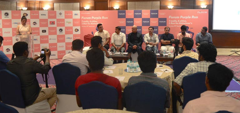 Forum Purple Run Press meet