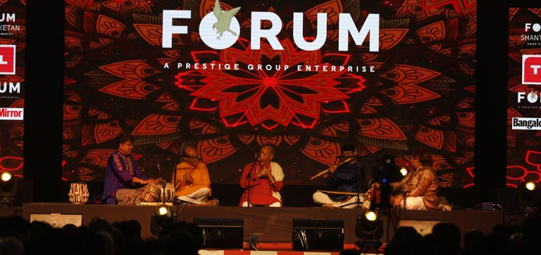 Forum Rocks with Pandit Hariprasad